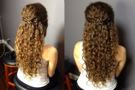 9 Prom Hairstyles For Long Naturally Curly Hair Prom Hairstyle