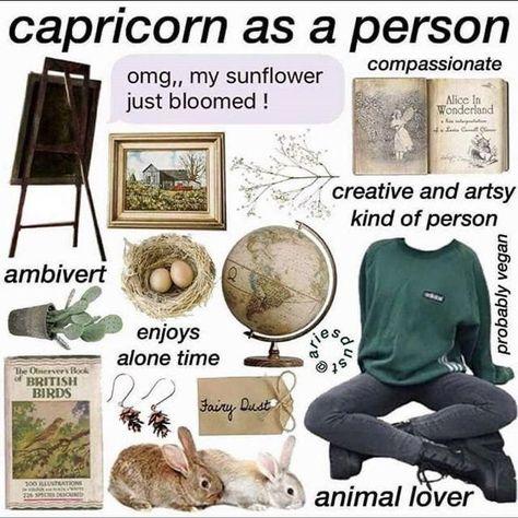 zodiac aesthetics - capricorn - Wattpad