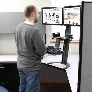 How to get a standing desk in your cubicle best standing desks