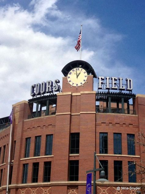 10 Must-See Tourist Attractions in Denver, Colorado: Coors Field Baseball Stadium in Denver