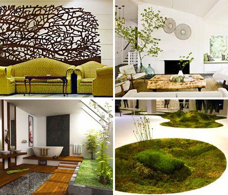 Organic Interiors: 15 More Inspirational Home Designs | Home ...