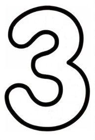3 rakamı