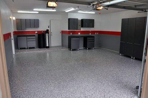Modern Simple Garage Paint Color Ideas