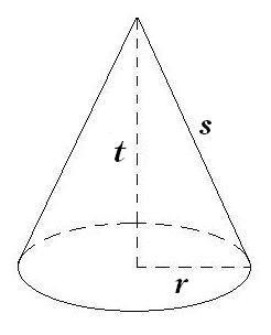 Rumus Geometri Kerucut Beserta Contoh Soal Dan Jawaban Geometri