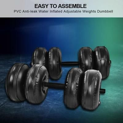Ad Ebay 25kg Portable Water Filled Adjustable Dumbbells Training Weights Arm Strength In 2020 Adjustable Dumbbells Weights Dumbbells Dumbbells