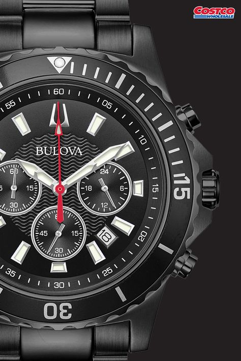 Bulova Chronograph Stainless Steel Men S Watch In 2019 Costco