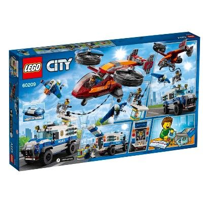 Lego City Sky Police Diamond Heist 60209 Lego City Lego City Police City Sky