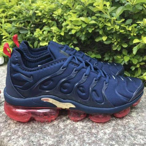 Nike Air Max Tn KPU October Red White Black Sneakers Men's Shoes