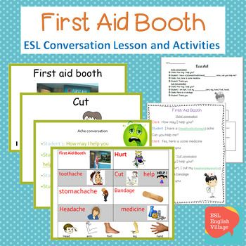 Esl First Aid Vocabulary Power Point Dialogue Sheet And Review Worksheet To Use In Esl Classroom Impr Esl Teaching Activities Esl Lessons Teaching Activities First aid and cpr worksheet answers