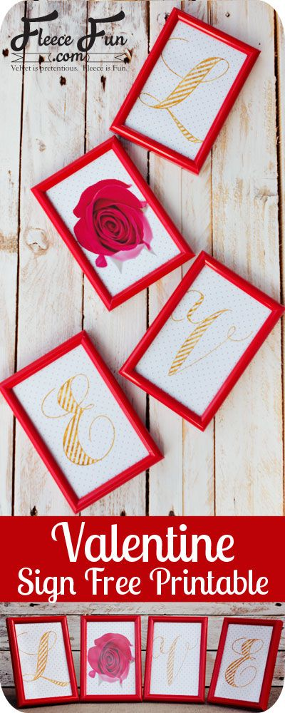 This adorable Valentines Day home decor is fast and easy and really inexpensive to make! Just use dollar store frames with this free printable - love!