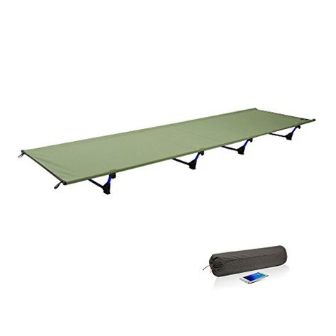Ultralight Camp Bed 200KG Heavy Duty Bearing Breathable Waterproof Bed Surface M