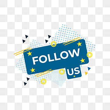 Follow Us Vector Label Follow Media Graphic Png And Vector With Transparent Background For Free Download Social Media Signs Sign Design Logo Sign