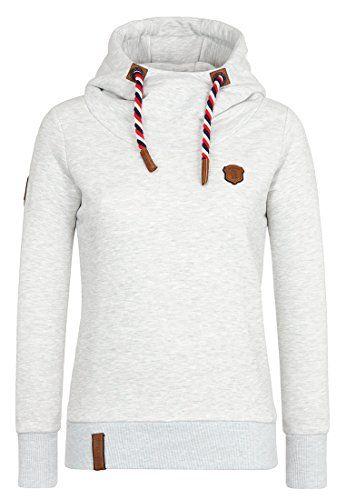 NAKETANO Schmierlappen Jeck Hooded Sweatshirt for Women Pink