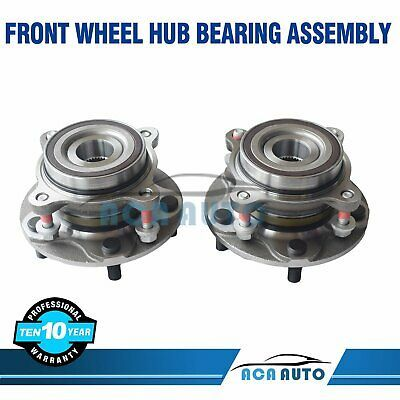 Set Of 2 Front Wheel Hub Bearing Assembly For Toyota Tundra 2007 2018 Ebay In 2020 Toyota Tundra Toyota Wheel