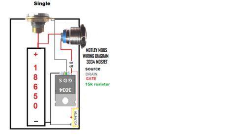 Motley Mods Box Mod Wiring Diagrams Switch Parallel Series Led Angel Eye Button Box Mod Vape Diy Box Mods Diy Box Mod