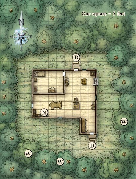 Pin by Larry Krog on D&D in 2019 | Dungeon maps, Fantasy map