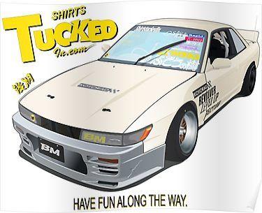 Shirtstuckedin Poster By Merlz Weird Cars Japan Cars Japanese Cars