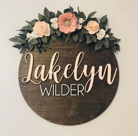 Your place to buy and sell all things handmade Unisex Baby Names, Cute Baby Names, Baby Girl Names, New Baby Names, Daddys Girl, Boy Names, Nursery Name, Nursery Signs, Girl Nursery
