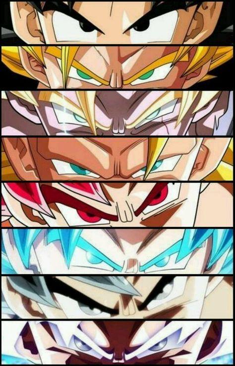 Goku Evolution Dragon Ball Wallpapers Dragon Ball Artwork Anime Dragon Ball Super