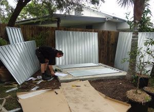 virginias shed going up sheds4less customers garden sheds pinterest gardens