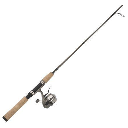 1-Piece Bass and Walleye Spinning Fishing Rod Tica USA Trout