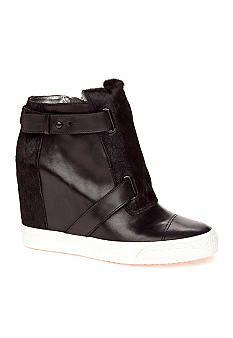 c54a2e9f47e DKNY Donna Karan Gregson Wedge Sneaker