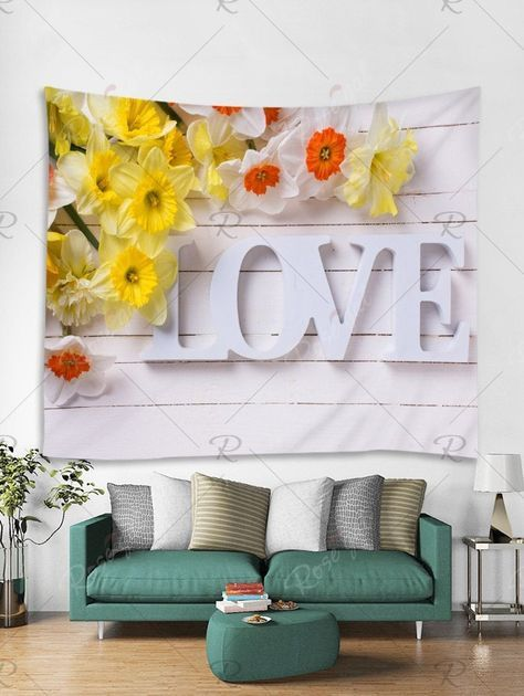 Wall Paper Tumblr Flowers Happy 57 Ideas Wall Decor Living Room
