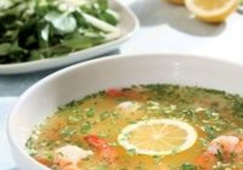 Although it's traditionally made with limes (and you could certainly make it that way), Meyer lemons add a gentler, subtle twist to this classic Mexican soup...