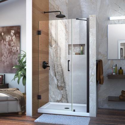 Shdr 20367210c 09 Unidoor 36 37 W X 72 H Frameless Hinged Shower