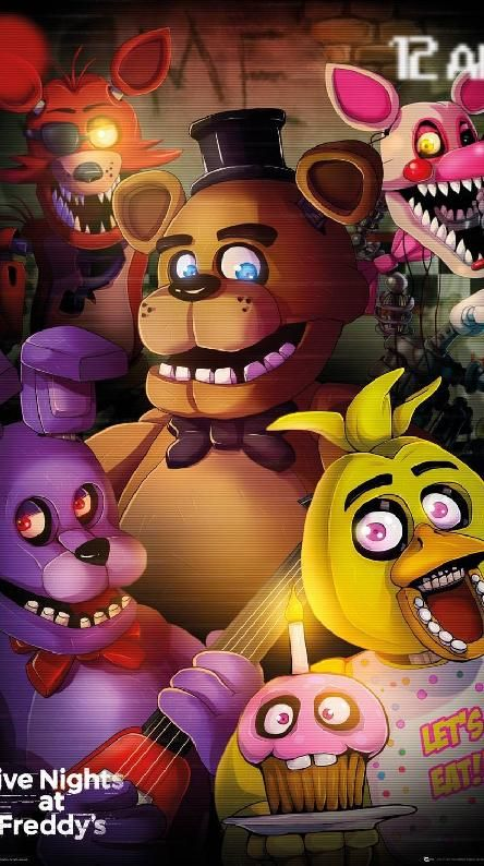 Fnaf Fnaf Wallpapers, Five Nights At Freddy's, Iphone Wallpaper, Parties Kids
