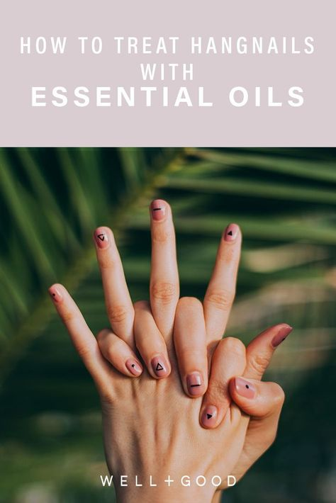 How to treat hangnails that become infected, holistically   Healthy ...