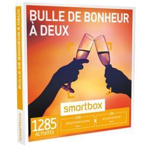 Coffret Cadeau Bulle De Bonheur à Deux Smartbox Saint