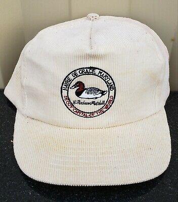 Ad Ebay Madison Mitchell Decoy Duck Carver Hat Chesapeake Bay Vtg Havre De Grace Display In 2020 Fun Sports Hats Madison