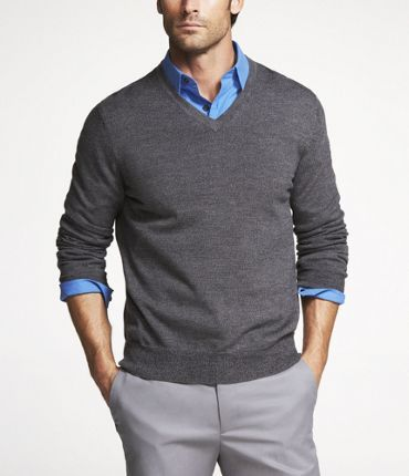 Sweaters On Formal Shirts