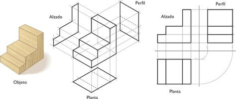 Doble Proyeccion Ortogonal Buscar Con Google Autocad Isometric Drawing Isometric Sketch Technical Drawing