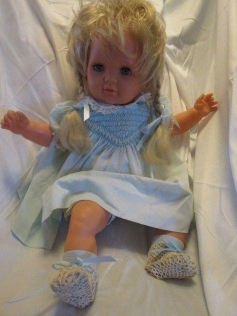 Lissi Batz Doll 23 20 70 Germany Vintage Blue Eyed Blonde