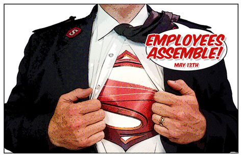 Employee Appreciation Luncheon, 'Superheroes' Themed. Teaser The Salvation Army