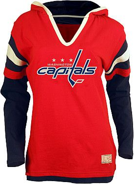 Old Time Hockey Washington Capitals Women's Marte Fooler Hood