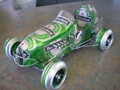 42 Ideas De Autos Latas Latas Latas De Aluminio Manualidades Con Latas