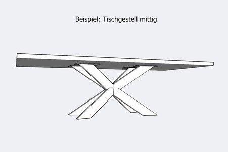 Tischfabrik24 Industriedesign Tischgestell Pivoter