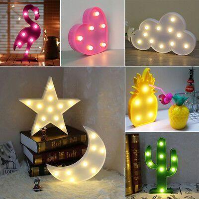 UK LED Xmas Tree Light Up Chrismas Ornament Small Night Light Table Decor 1pc