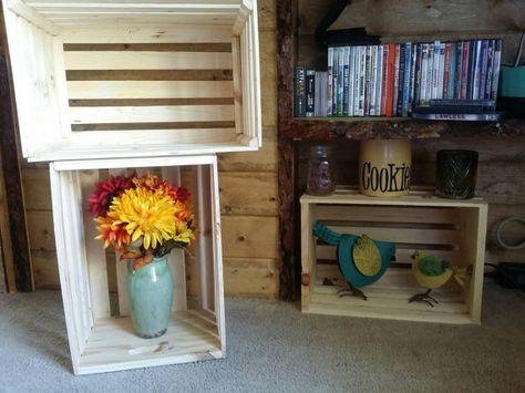 Caja de madera individual por amfcustomwood en Etsy