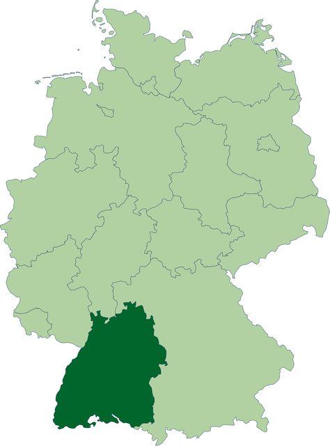 Baden Wurttemberg Alemanski Baade Wiirdebaarg Je Savezna