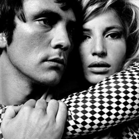 Terence Stamp& Monica Vitti