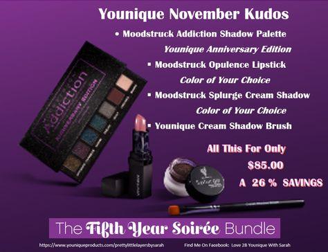 love2byouniquewithsarah #Younique #November #Kudos...