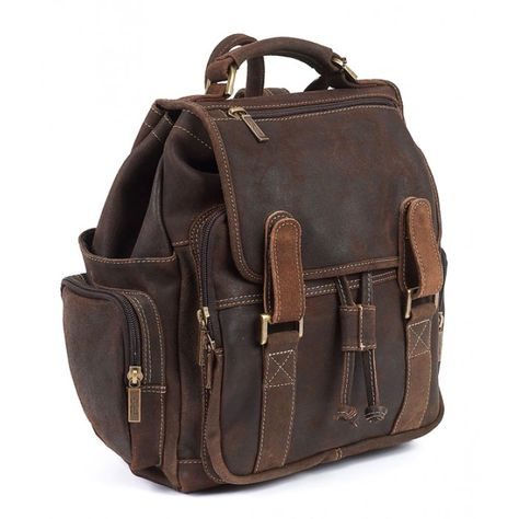 Claire Chase Catalina Ladies Leather Handbag Computer Bag in Saddle