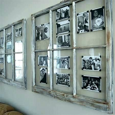 Rustic Collage Photo Frames Detail Large Picture Average Window Pane Family Ru In 2020 Old Window Frames Window Frame Picture Door Picture Frame
