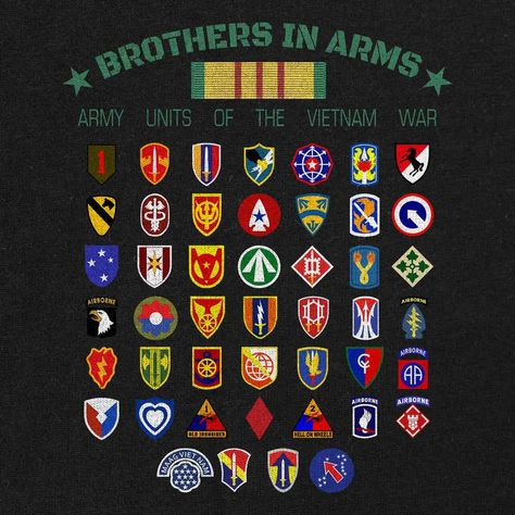 Vietnam Army Units Brothers in Arms T-Shirt – USAMM