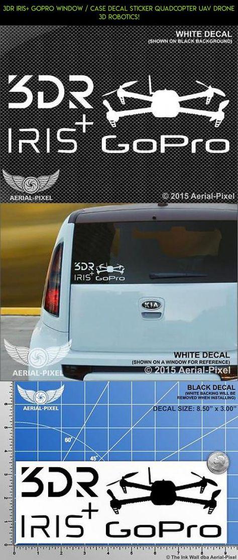 "3DR SOLO 3 Decals Sticker Quad Die cut vinyl 3.15x/"" x 2.25/"" ea"