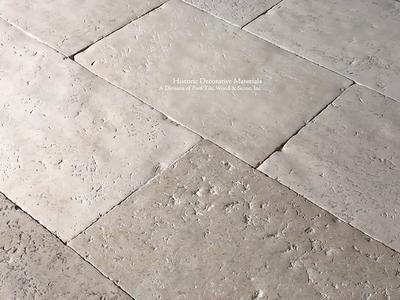 Buffed Shell Aged Israeli Limestone Flooring Limestone Flooring French Limestone French Limestone Floor